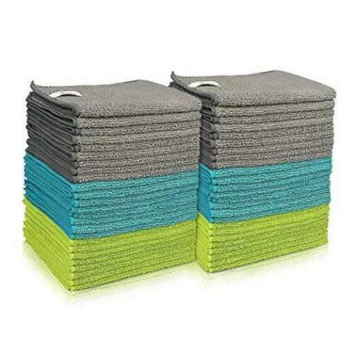 AIDEA Microfiber Cleaning Cloths Softer Highly Absorbent Lint Free Streak Free