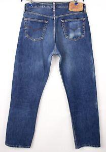 Levi's Strauss & Co Herren 501 Gerades Bein Jeans Größe W36 L32 BBZ530