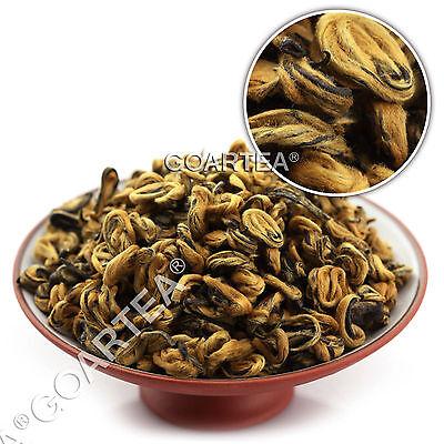 Nonpareil Supreme Organic Yunnan FengQing Golden Bud Snail Dian Hong Black Tea