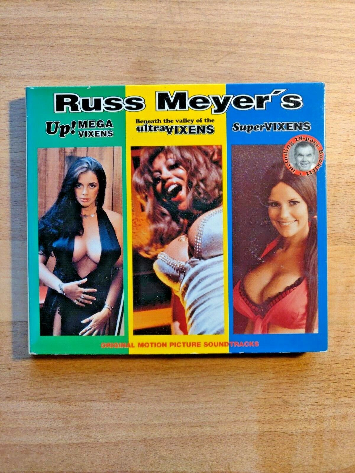 Beneath The Valley Of The Ultra Vixens Watch russ meyer's vixens, vol. 2various artists (cd, dec-1997, rm films  int'l)
