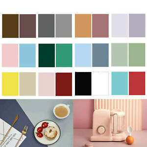 Morandi Solid Color Double-sided Backdrop Paper Food Product Photo Background !