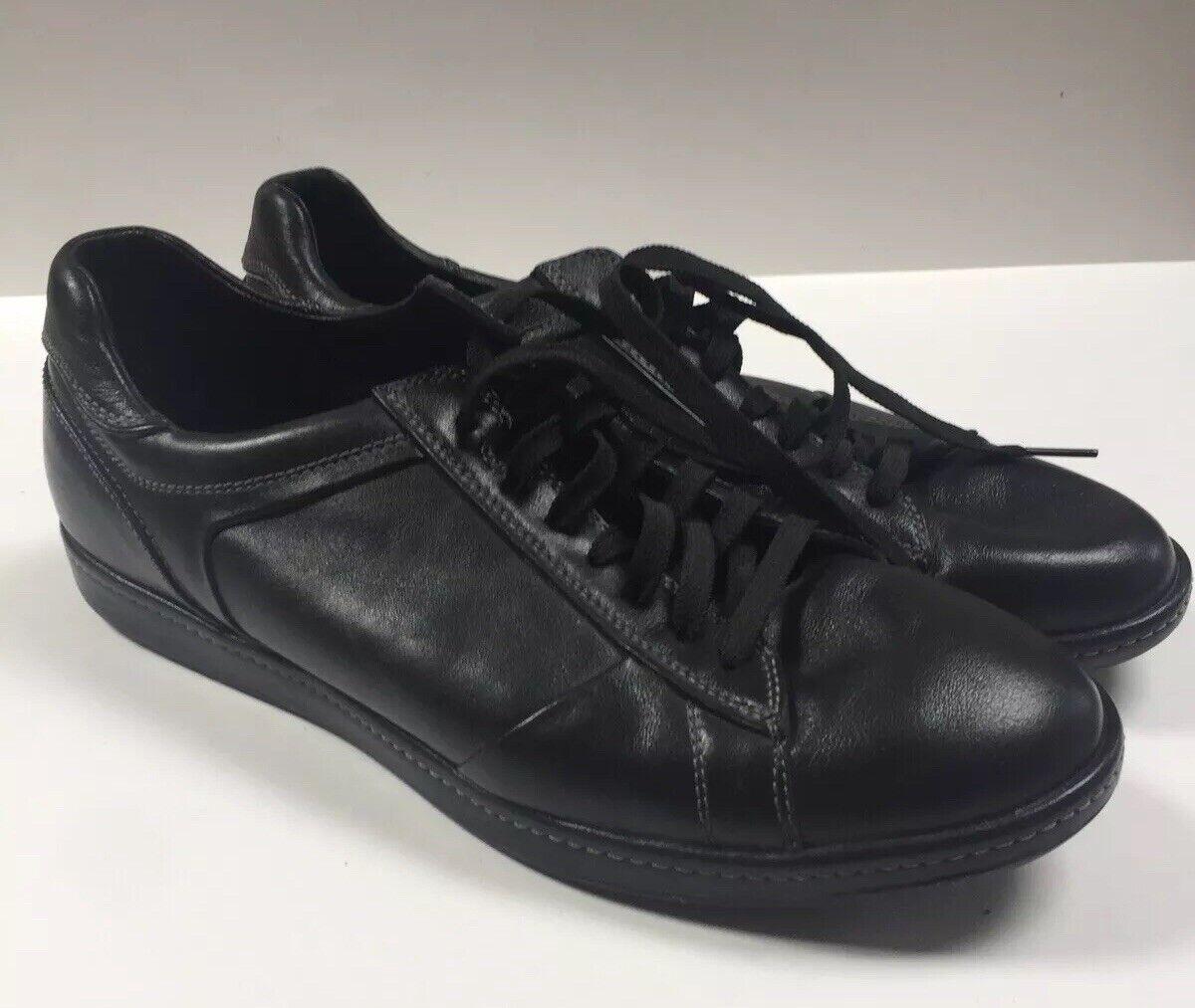 Cole Haan zapatos, zapatos de amarre negro, 10 yardas, hombre.