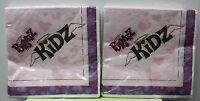 2-set Bratz Kidz Luncheon Napkins Paper Birthday Party Girls Dolls Child