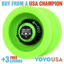[SPRING SALE] YoYoFactory Velocity Yo-Yo - Green + STRINGS