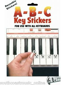 HAL-LEONARD-ABC-PIANO-amp-KEYBOARD-STICKERS-TUITIONAL-LEARN-TO-PLAY-STICKERS