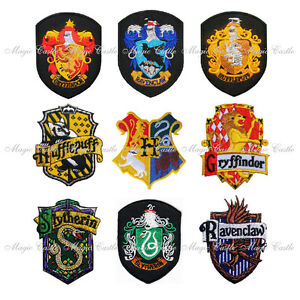 Image Is Loading Harry Potter School Crest Iron On Embroidered Patch
