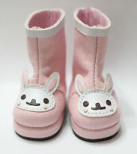 Defects Pink Rabbit Boots fits BJD Volks Yosd Leeke AI Unoa 1/6 BJD