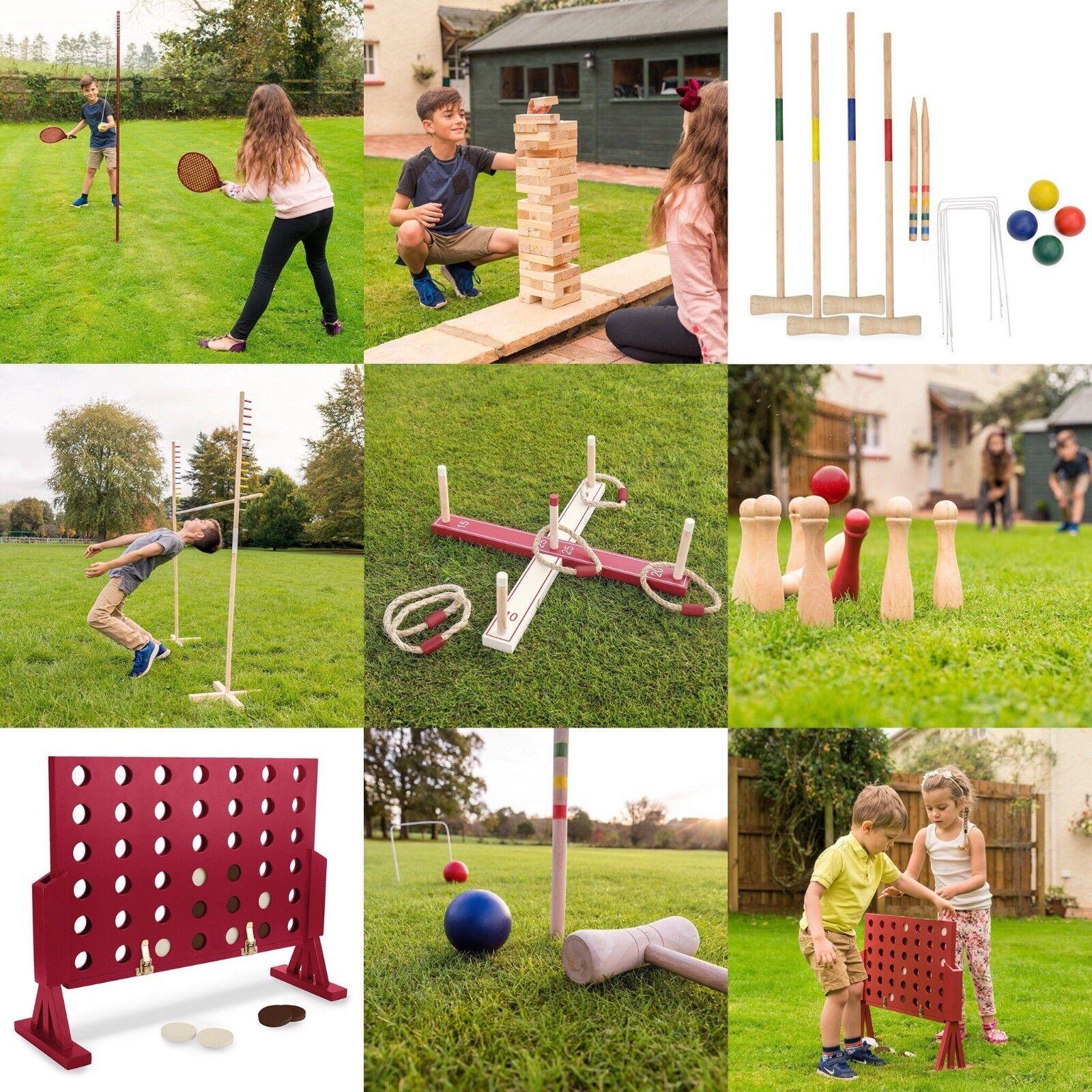 Toyrific Garden Games TY5965 Wooden Limbo Set