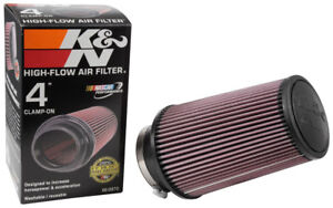 RE-0870-K-amp-N-Universal-Rubber-Air-Filter-4-034-FLG-6-034-OD-B-4-5-8-034-OD-T-9-034-H-KN-Unive