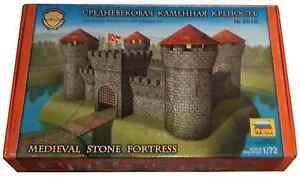 Zvezda-8510-Medieval-Stone-Fortress-Retired-modular-plastic-model-MIB