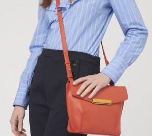 Easton Bag Orange Cross Radley Leather New Handbag £169 Rrp Shoulder Body SHdZOwZq