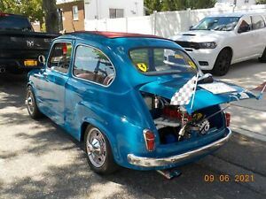 1962 Fiat 600 US model Low mileage and Very fast Berlina!