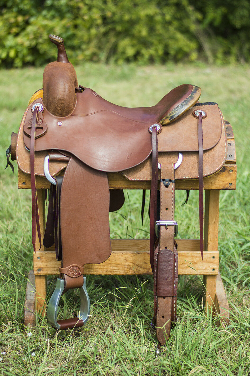 16  Spur Saddlery Cutting Saddle (Made in Texas)