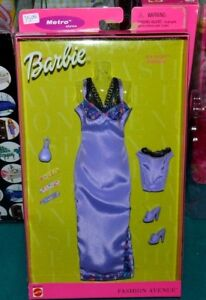 NIB-2000-BARBIE-LAVENDER-LINGERIE-FASHION-AVENUE-METRO-STYLE-SPA-NIGHT-PERFUME