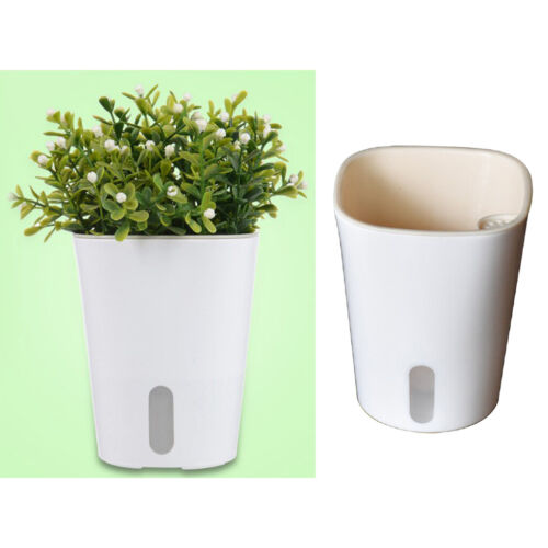 Self Watering Plant Flower Pot Water Container Planters for Balcony Garden Decor