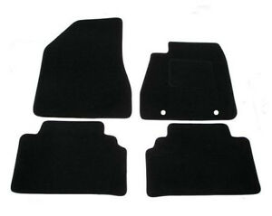 Fully Tailored 4 Piece Rubber Car Mat Set 4 Clips For Lexus IS300H MK3 2013