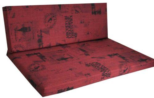 Rivestimenti per tavolozze Cuscino tavolozze imbottitura tavolozze Edizione Banca condizioni 120×40 Per il giardino