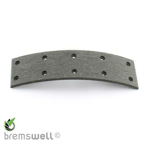 Bremsbelag 50x5x200 NL10 4x10 für DKW Munga Vorder /& Hinterachse