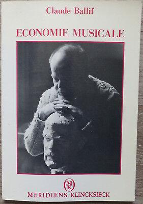 -einsparung Musicale, Von Claude Ballif - 1988