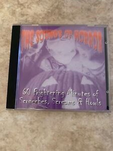 Details about Sounds Of Horror 60 Frightening Minutes Of Screeches, Screams  & Howls cd