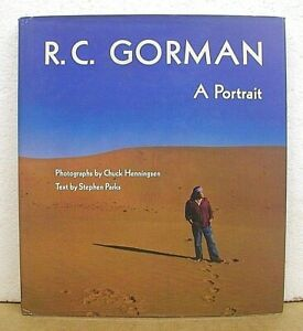 R-C-Gorman-A-Portrait-with-photographs-by-Chuck-Henningsen-Signed-by-Artist