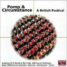 PREVIN/WORDSWORTH/MARRINER/LPO - POMP & CIRCUMSTANCE-A BRITISH FESTIVAL CD NEU