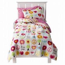 5 pc Circo Peace Girl Collection Twin Comforter, Sham & Sheet Bedding Set NIP