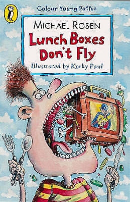 """""""AS NEW"""" Lunch Boxes Don't Fly, Rosen, Michael, Book"""