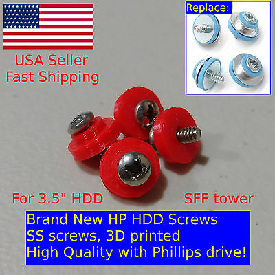 400X HP HDD Mounting Screws 6000 6005 Pro 8000 8100 8200 Elite DC7800 DC7900 SFF