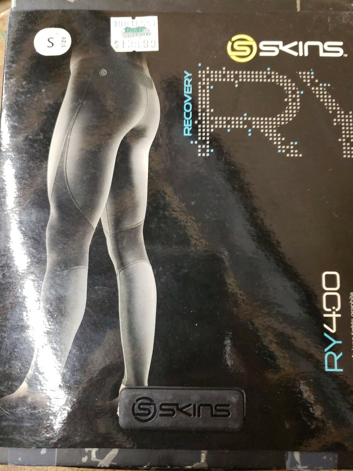 Skins RY400 Tights. Men's Long Pants. New in box. Size Small