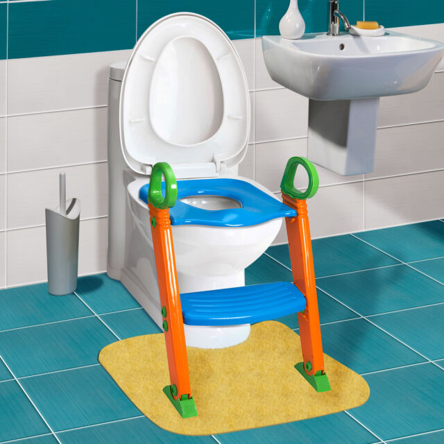 Phenomenal Kids Potty Training Seat With Step Stool Ladder For Child Toddler Toilet Chair Short Links Chair Design For Home Short Linksinfo