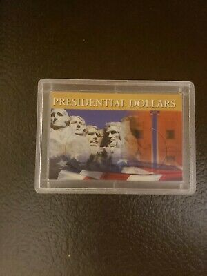 Frosty Case 2x3 no coin For Presidential Dollar Coins 2 Hole