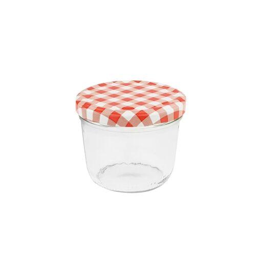 500 Einmachgläser 230ml rot Marmeladengläser Sturzgläser Einweckglas Einkochglas
