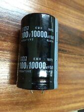 2PCS NIPPON 100V 10000UF Electrolytic Capacitor 35X51mm 105℃ #E193 YX
