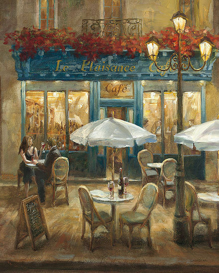 Danhui Nai   Paris Caffè i Crop Barella-Immagine Schermo via Stile Nostalgico