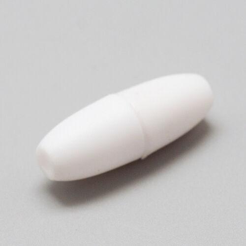 100pcs Plastique Break Away Fermoirs pour dentition Bijoux Ovale Fermeture Findings 24 mm