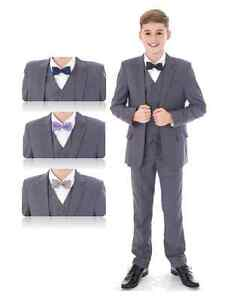 8936eb9e9 Image is loading Boys-Suits-Wedding-Suits-Page-Boy-Suits-Prom-