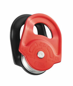 PETZL RESCUE - High-strength pulley with swinging side plates