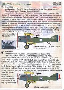 Print Scale Decals 1/72 BRISTOL F.2B FIGHTER ACES British World War I Fighter