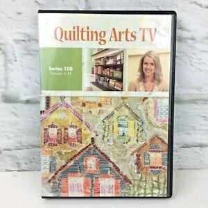 Quilting Arts TV dvd Series 100 ep 1-13 4 discs Pokey Bolton 2008 fiber arts