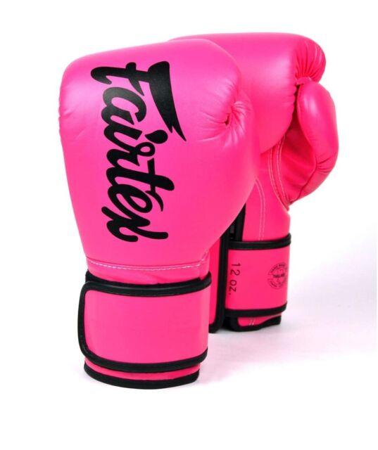 Fairtex Gloves Muay Thai Kick Boxing MMA K1 Micro Fiber BGV11 BGV14