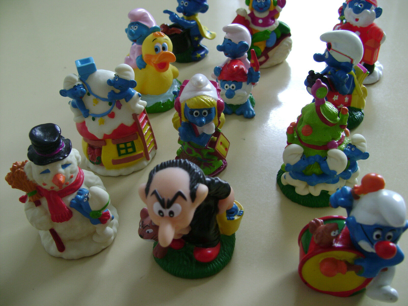 Masse OF 12 CANDY TOPPER BIP HOLAND SMURFS