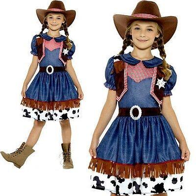 Texan Ragazzi Cow Boy Costume Rodeo Wild West Western Carnevale Travestimento