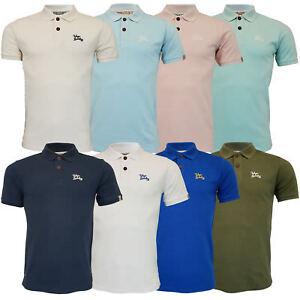 Mens-Pique-Polo-T-Shirt-Tokyo-Laundry-Florenzi-Short-Sleeved-Top-Casual-Summer