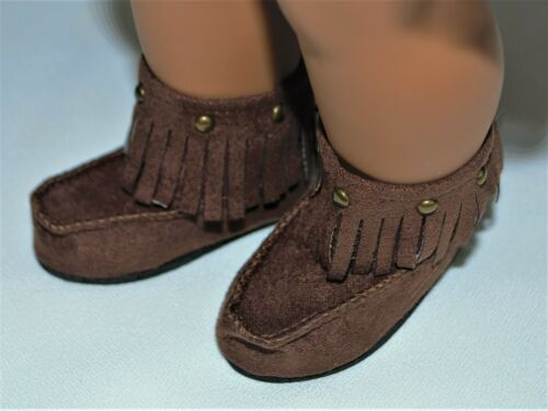 BOOTS BROWN FOR 18 in AMERICAN GIRL DOLL SHOES CLOTHES ACCESSORIES