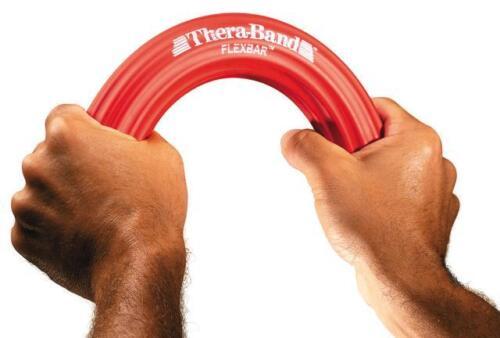 Thera-Band Flex Bar Resistance Theraband Grip Wrist Hand Sport Light-Heavy REHAB