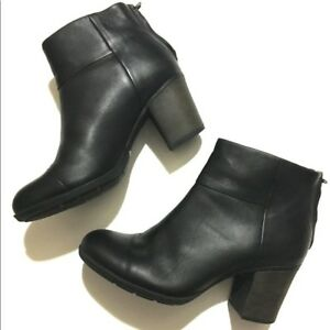Clarks Enfield Tess Black Leather