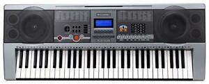 B-WARE-Digital-61-Tasten-Keyboard-E-Piano-Klavier-100-Sounds-amp-Rhythmen-USB-MP3
