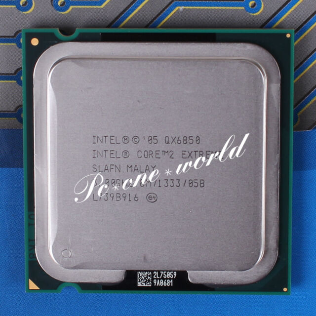100% OK SLAFN Intel Core 2 Extreme QX6850 3 GHz Quad-Core Processor CPU