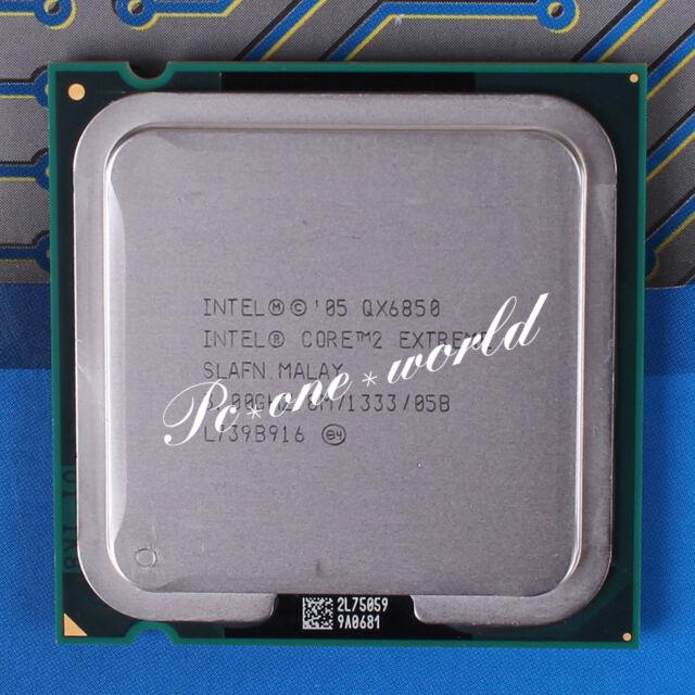 100% OK SLAFN Intel Core 2 Extreme QX6850 3 GHz Quad-Core Processor CPU